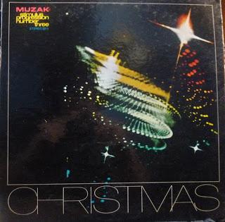 Disco de música ambiental navideña
