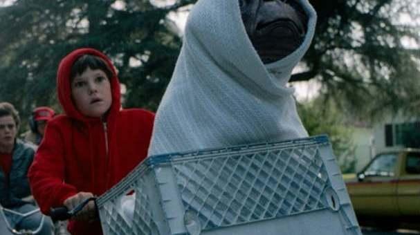 ¿Cómo movían a ET?