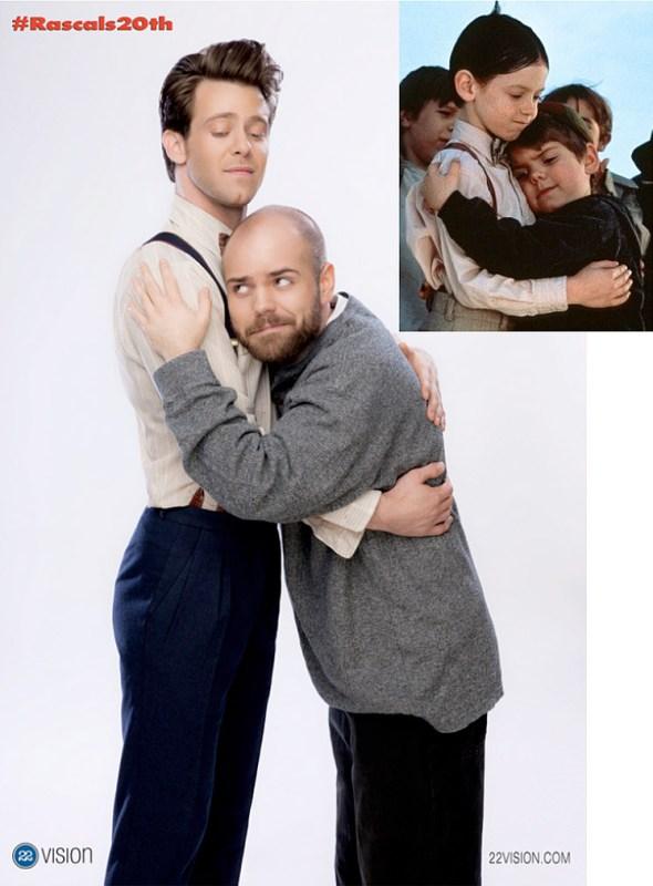 """Bug Hall y Travis Tedford en """"Los pequeños traviesos"""""""