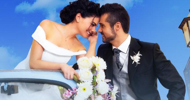 Livia Brito y Jose Ron en Muchacha italiana viene a casarse.