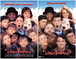 Actores de Los pequeños traviesos ahora