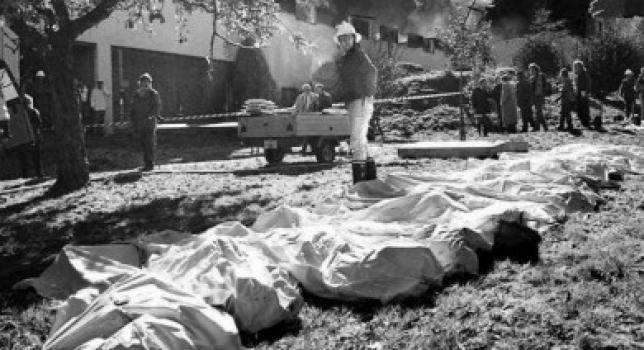 Suicidio colectivo en la Orden del Templo Solar