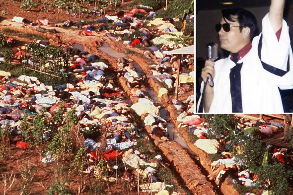 Jonestown suicidio