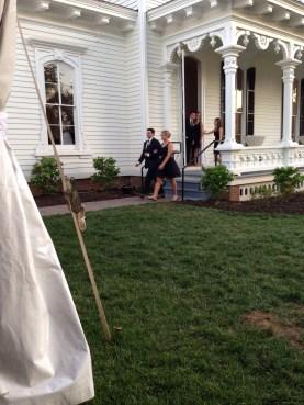 bridesmaid brooke with groomsman ryan
