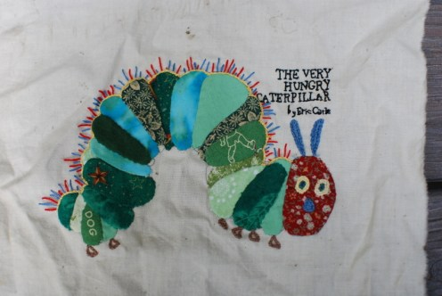 Age 1: The Very Hungry Caterpillar, applique