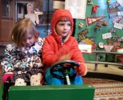Driving at the Public Museum