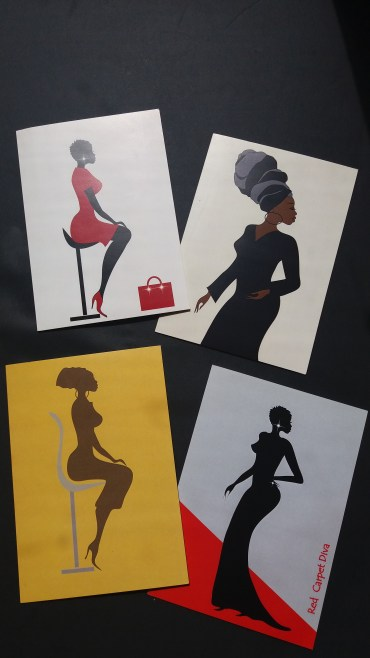 Afrocentric cards for black women