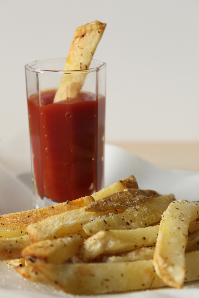 Homemade Baked French Fries