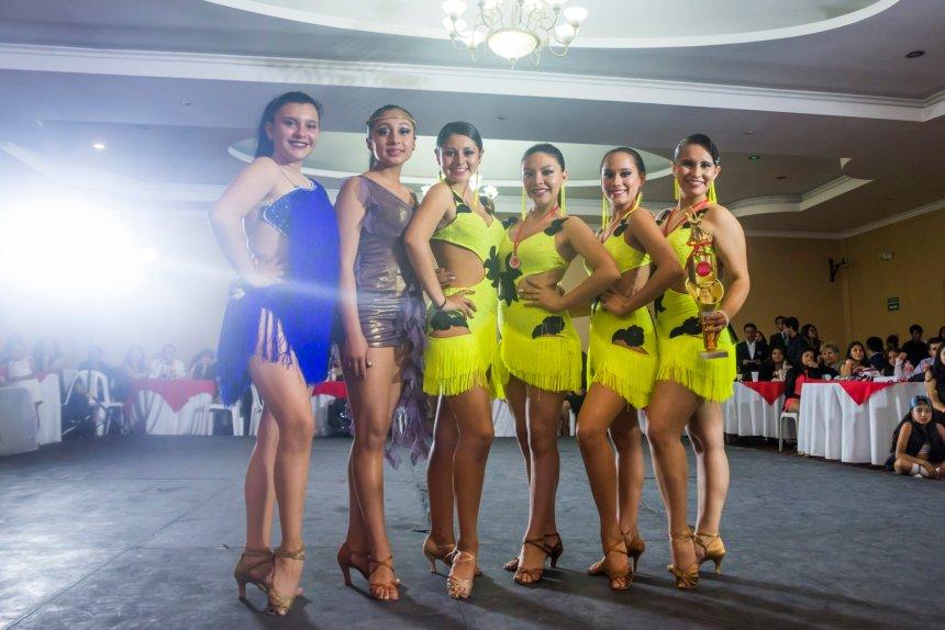 Premiación chicas de baile