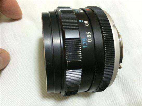 AUTO ROKKOR - PF 1:1.8 f=55mm MINOLTA