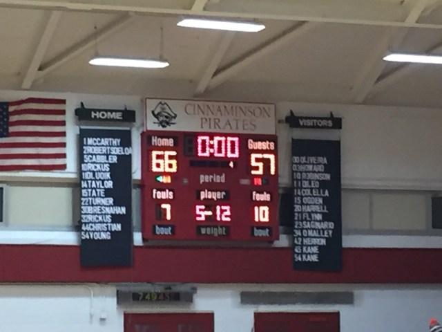 Bordentown win boy's basketball top 5