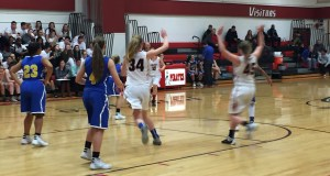 Girl's Basketball Buena win