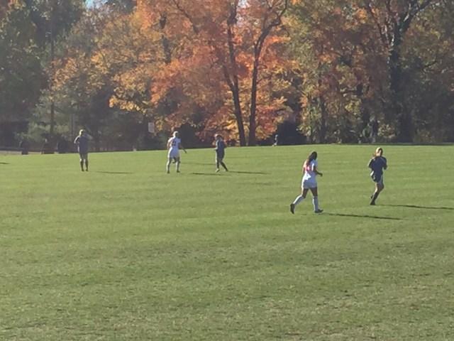 sectional semis, oakcrest, girl's soccer, SJG2 final