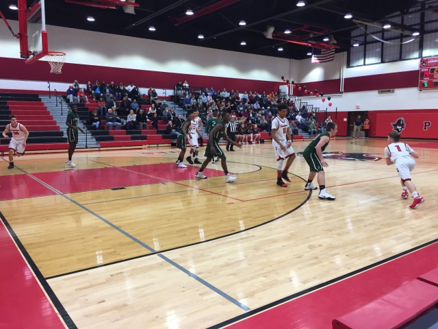late rally loss, Pemberton, boy's basketball, lower cape may