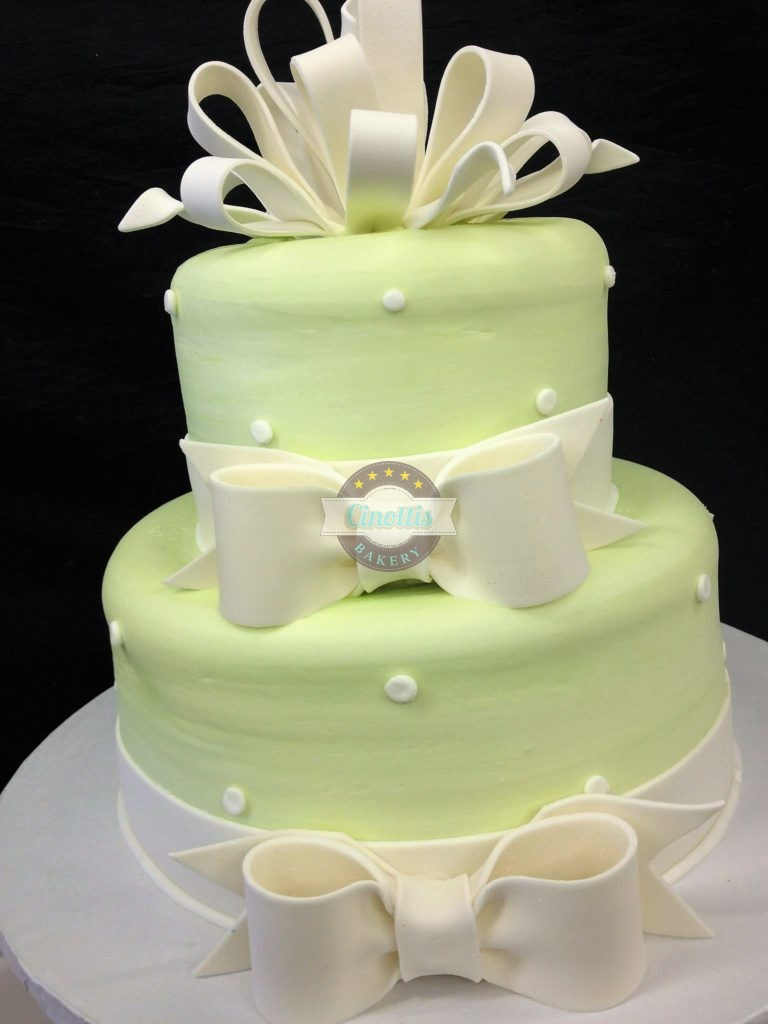 Ribbons And Bows Cake From Cinottis Bakery In
