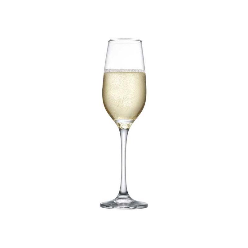 440295 Amber Flüt Şampanya kadehi