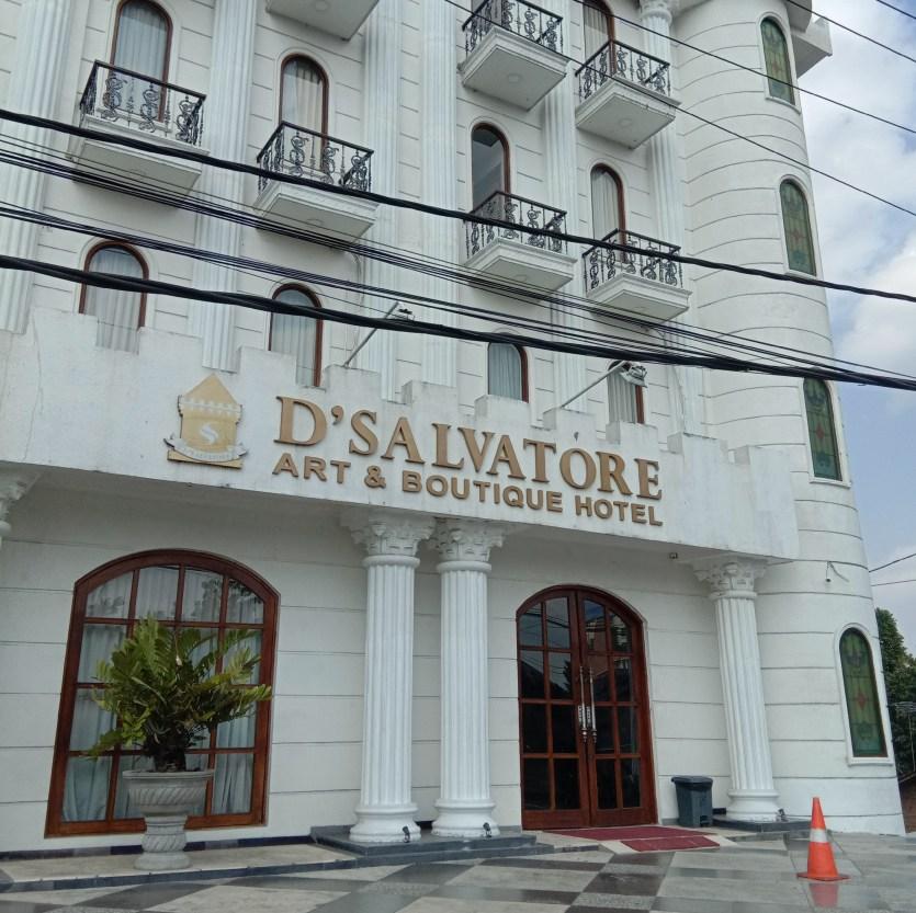 sewa motor jogja dekat D'salvatore Art & Boutique Hotel