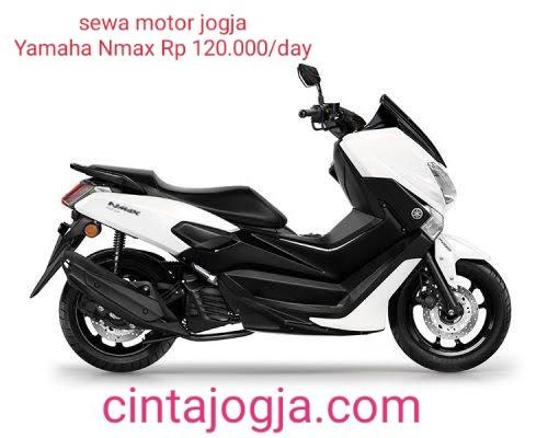 sewa motor jogja Yamaha Nmax 155cc