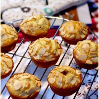 Almond and Cranberry Friands