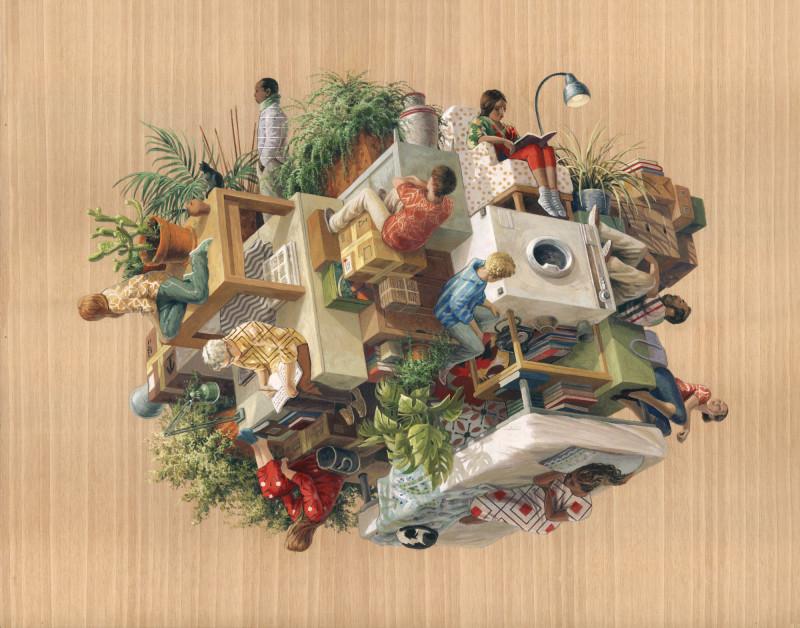 TOGUETHERALONE-40x50cm-CintaVidal