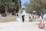 al-Aqsa - occupation forces fire on Palestinian lady. Ma'an