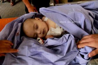 another beautiful infant murdered by Jewish military