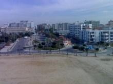 The beach and esplanade
