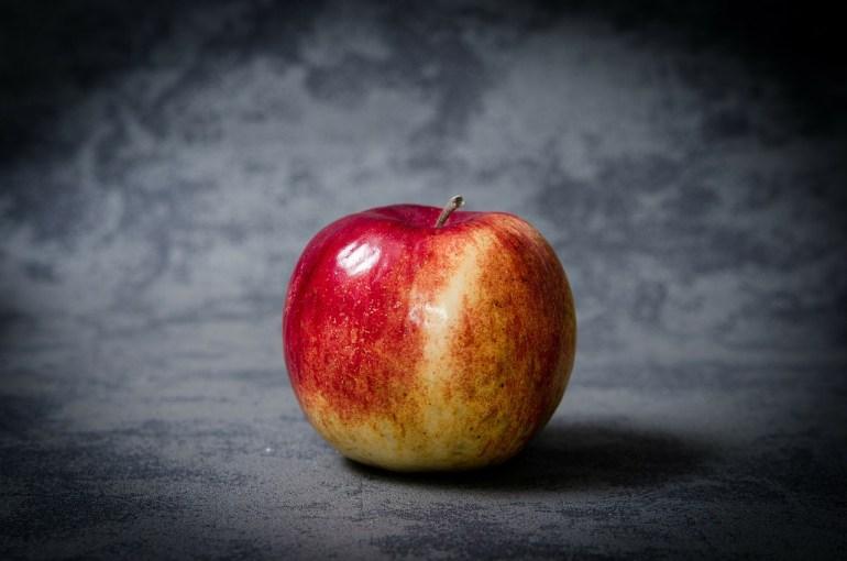 Apple Gentleness the fruit of surrender