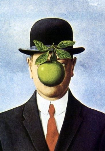 Son of Man, de Magritte