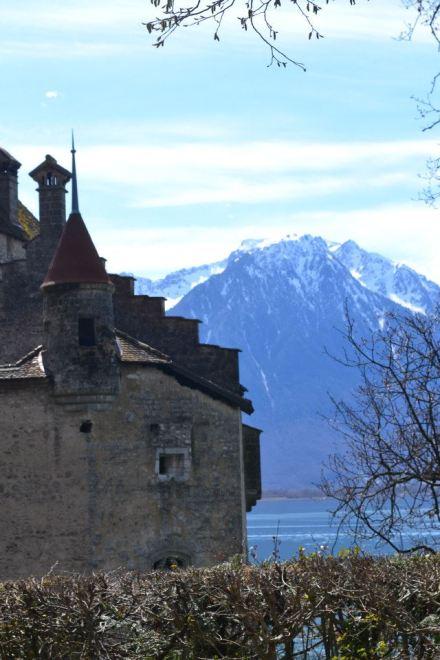 Castelo de Chillon.