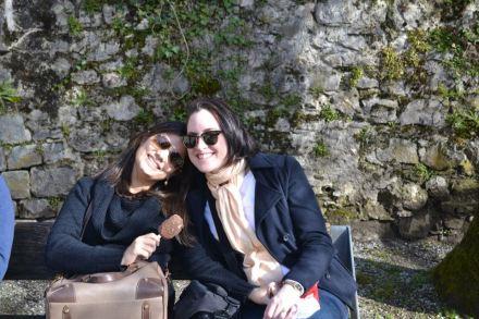 Mayra e Cintia em Chillon