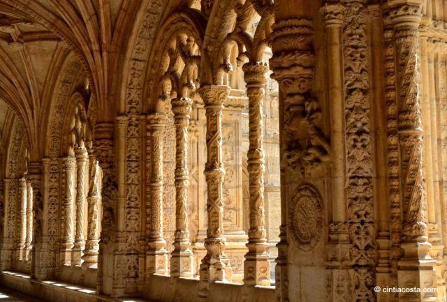Interior do Mosteiro dos Jerónimos. Foto: cintiacosta.com