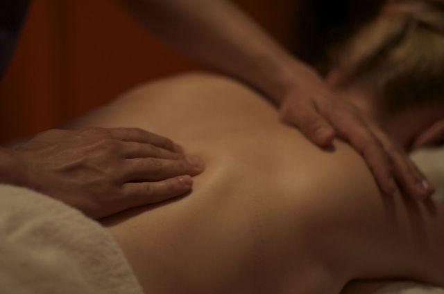 Massagem. Foto: Nick Webb.