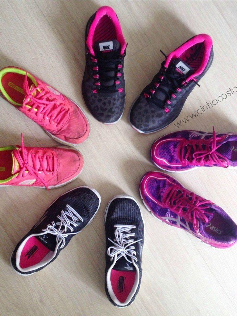 Tênis de corrida e caminhada femininos: meus favoritos