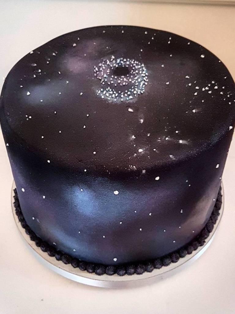 """Bolo """"Galaxy Cake"""""""