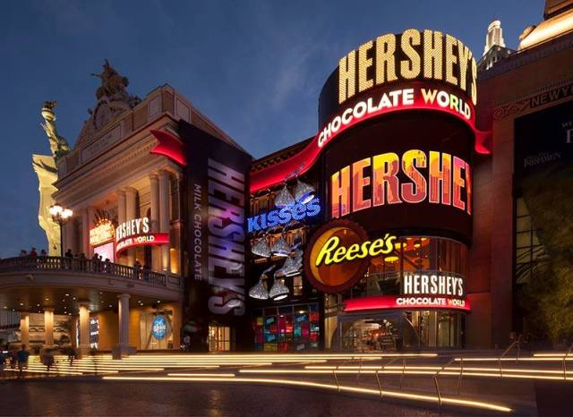 Compras em Las Vegas: Hershey's Chocolate World.
