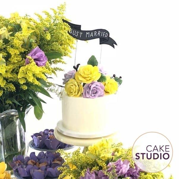 Os bolos de casamento do Cake Studio