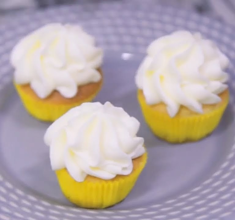 Receita de cupcake de limão siciliano com cream cheese