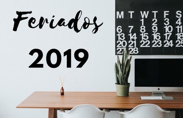 Feriados 2019 Brasil: nacionais e estaduais