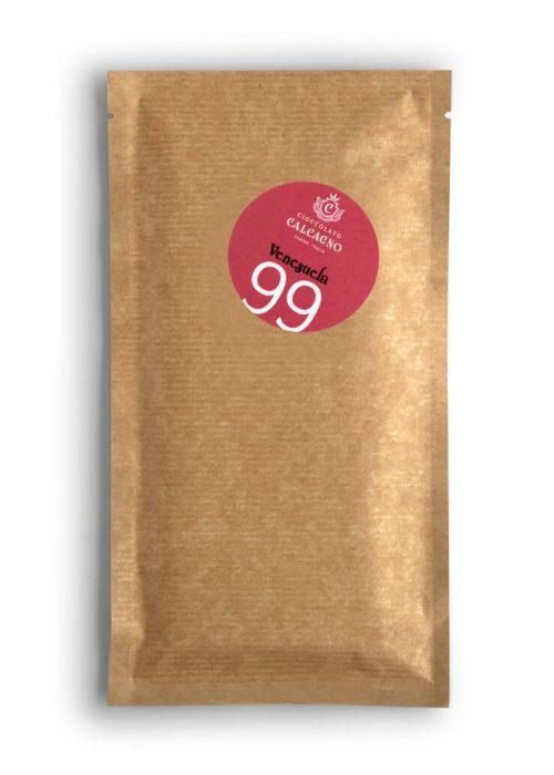 Tavoletta cioccolato fondente Venezuela 99%