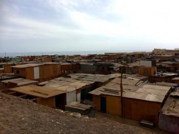 Imagen 1: Megacampamento en Antofagasta. Fuente: Autor.