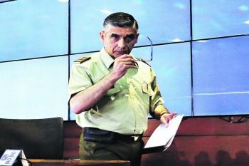 Gonzalo Blu, jefe nacional de inteligencia de Carabineros