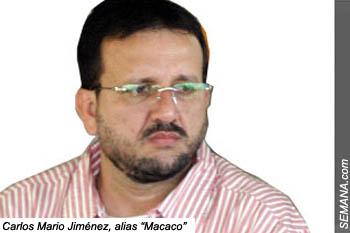 """Carlos Mario Jiménez, alias """"Macaco"""""""
