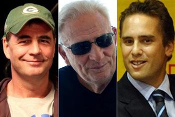 Alejandro Burzaco, Hugo Jinkis y Mariano Jinkis.
