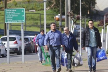 Héctor Llaitul es dejado en libertad junto a los otros siete comuneros mapuche el 19 de octubre.