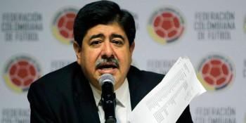 Luis  Bedoya, ex presidente de la Federación de Colombia