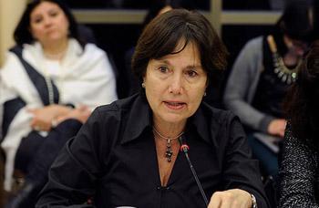 Ministra de Salud, Carmen Castillo