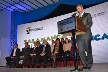 "Firma del convenio ""Viva Salamanca"""