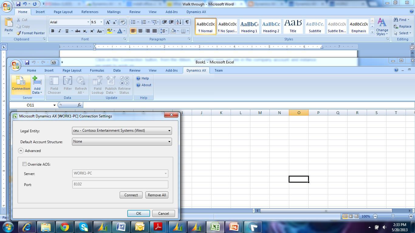Walk Through Microsoft Office Add In For Microsoft