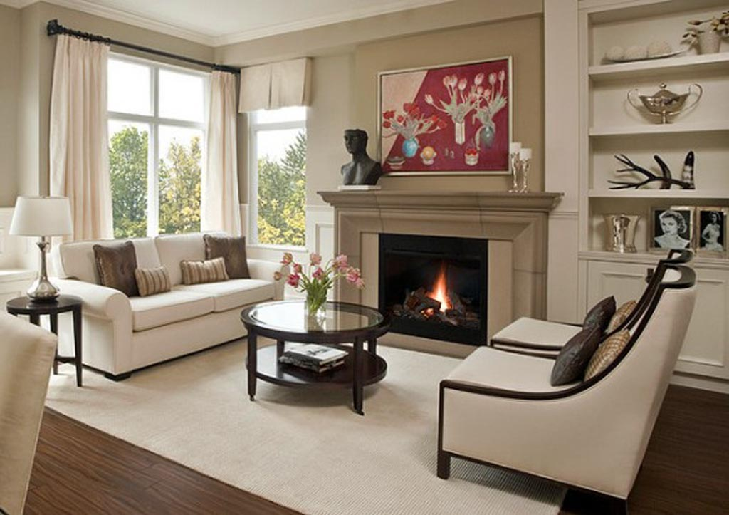 How to Arrange Your Living Room Furniture | CCD ... on Small Space Small Living Room With Fireplace  id=72269